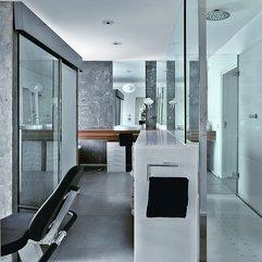 Luxury Bathroom Interior Design Ideas Futuristic Style - Karbonix