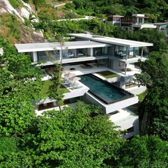 Majestic Thai Villa Overlooking The Ocean - Karbonix