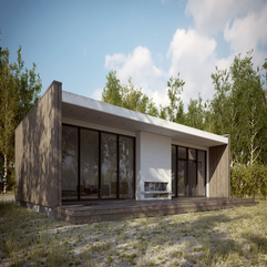 Making Of Scandinavian Summer House 3D Architectural - Karbonix