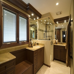 Master Bathroom Interior Design In Modern Style - Karbonix