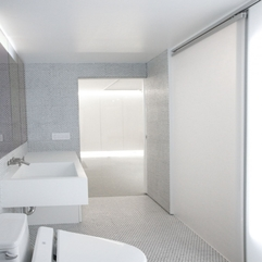 Minimalist Apartment Bathroom Interior Design AZnyc - Karbonix
