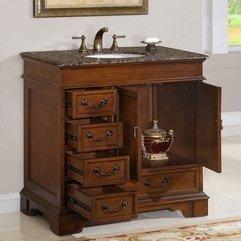 Minimalist Bathroom Vanity Single Sink Cabinet Design House Design Bathroom Esthetic And - Karbonix