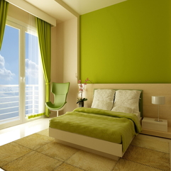 Minimalist Green Bedroom Decoration - Karbonix