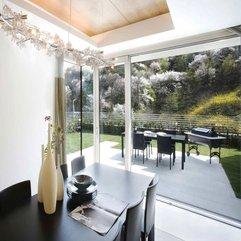 Minimalist Modern House Design Minimalist Dining Room Outdoor And - Karbonix