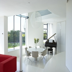 Minimalist Tower Home Dining Room 1 - Karbonix