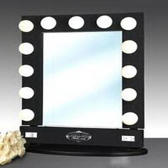 Mirror Lighted Make Up Vanity - Karbonix