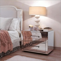 Mirrored Bedside Fancy Inspiration - Karbonix