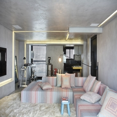 Modern Apartment With Three Dimensional Effect Of Night Club - Karbonix