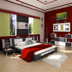 Modern Bedroom Design HD Wallpaper Wallpapers Wall9 - Karbonix