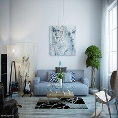 Modern Blue Living Rooms Uniquely Design - Karbonix