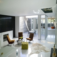 Modern Contemporary White Home Living Room Interior Design Ideas - Karbonix