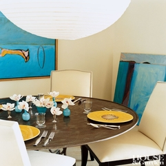 Modern Dining Room By Miles Redd AD DesignFile Home Decorating - Karbonix