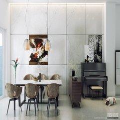 Modern Dining Room Idea - Karbonix
