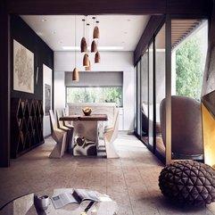 Modern Dining Room - Karbonix