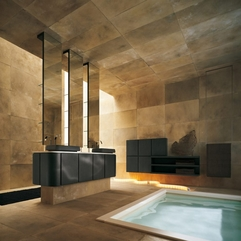 Modern Elegant Style Suede Bathroom Ideas Designmodern Furniture - Karbonix