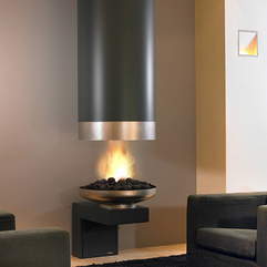 Modern Fireplace Design By Modus Interior Design Architecture - Karbonix
