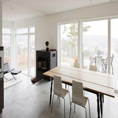 Modern Minimalist Dining Room Decorating Ideas Home Design Pictures - Karbonix