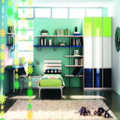 Modern Themed Rooms For Boys Girls Fabulous Look - Karbonix