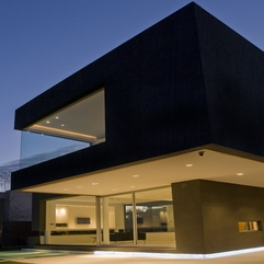 Most Beautiful Black House Architecture Designed By Andr S Remy - Karbonix
