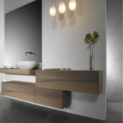 Mounted Cabinet Calm Design Bathroom Wall - Karbonix