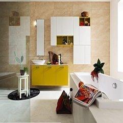 Multi Color Bathroom Design - Karbonix