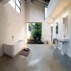 Natural Bathroom Tile Design Ideas Full White Y Loz J With Fresh - Karbonix