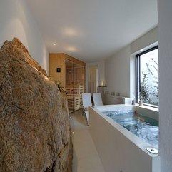 Best Inspirations : Near Glass Window Big Rocks White Bathtub - Karbonix