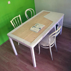 Office With Green Wall Interior And Creative Ideas Office Wooden Furniture Modern Soft - Karbonix