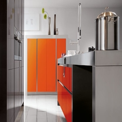 Orange Kitchens Color Glossy - Karbonix