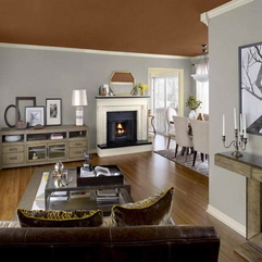 Paint Color Trends With Wooden Floor Latest Interior - Karbonix