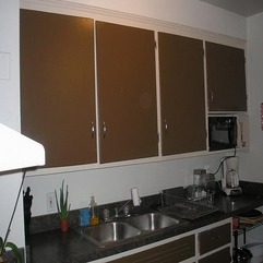 Painted Kitchen Cabinets Awesome Brown - Karbonix