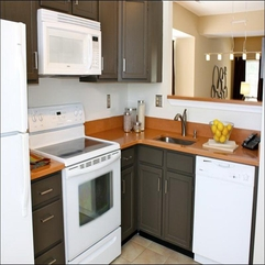 Painted Kitchen Cabinets Luxury Brown - Karbonix