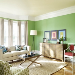 Painted Rooms With Decorative Lighting Examples - Karbonix