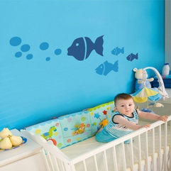 Painting Baby Room Underwater Wall - Karbonix