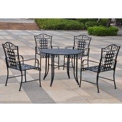 Patio Chairs Modern Metal - Karbonix