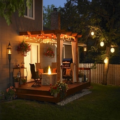 Patio Decorating Ideas Amazing Back - Karbonix
