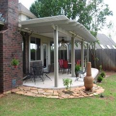 Patios With Outdoor Iron Chair Covering - Karbonix