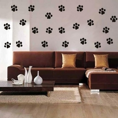 Paws Print Wallpaper Abstrac Dog - Karbonix