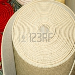 Persian Carpet Made From Natural Wool In Roll Royalty Free Stock - Karbonix