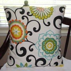Pillows With White Base Color Designer Sofa - Karbonix