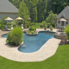 Pool B Backyard Landscaping - Karbonix