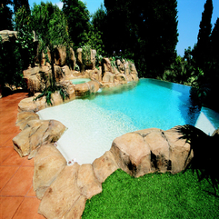 Best Inspirations : Pool Designs Chic Contemporary - Karbonix