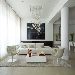 Pretty Tasteful White Apartment Design Coosyd Interior - Karbonix