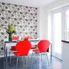 Prints Dining Room Bold Wallpaper - Karbonix