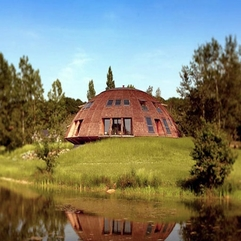 Best Inspirations : Proof Building Design Ufo Shaped House Earthquake - Karbonix