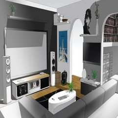 Properties White And Grey Home Entertainment - Karbonix