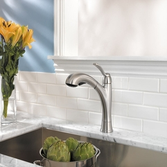 Pull Out Faucet With Elegant Modern Design View Larger Luxurious Functional - Karbonix