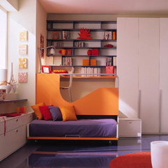 Purple Orange Color Scheme For Kids Bedroom Looks Cool - Karbonix
