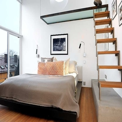 Quilt In White Bed With White Batik Orange Motif Pillows Grey - Karbonix