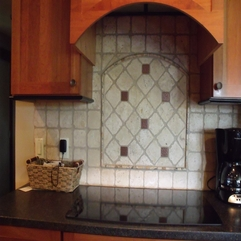Quirky Hmade Custom Design Tile Backsplashes By Jl Klecreations Cute And - Karbonix